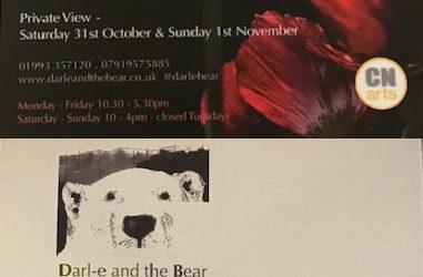 CNArt at   Darl-e and the Bear