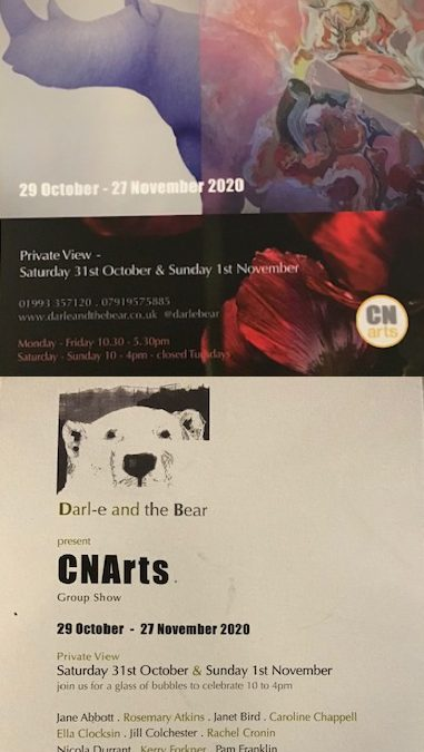 CNArt at   Darl-e and the Bear