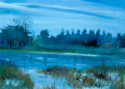 Blue Landscape – Blenheim
