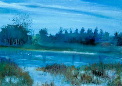 Blue Landscape – Blenheim