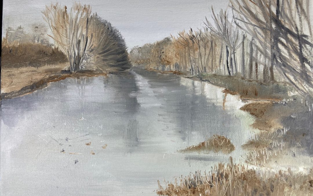 View from Bladon Bridge – Blenheim Series