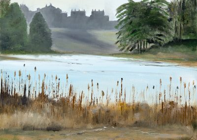 Across the lake to the Palace – Blenheim Lockdown walk series