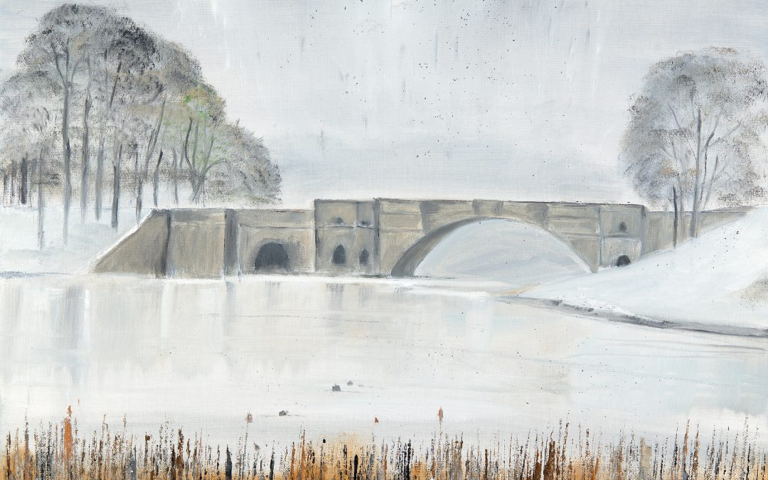 The Grand Bridge in the Snow – Blenheim series