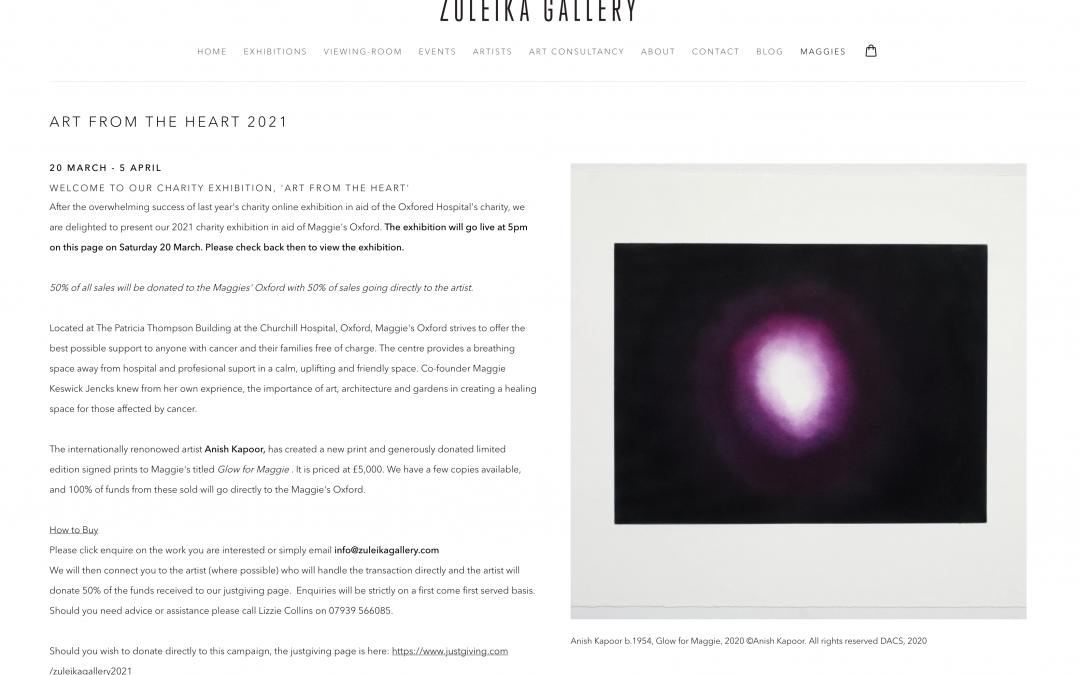 Zuleika Gallery – Art from the Heart 2021